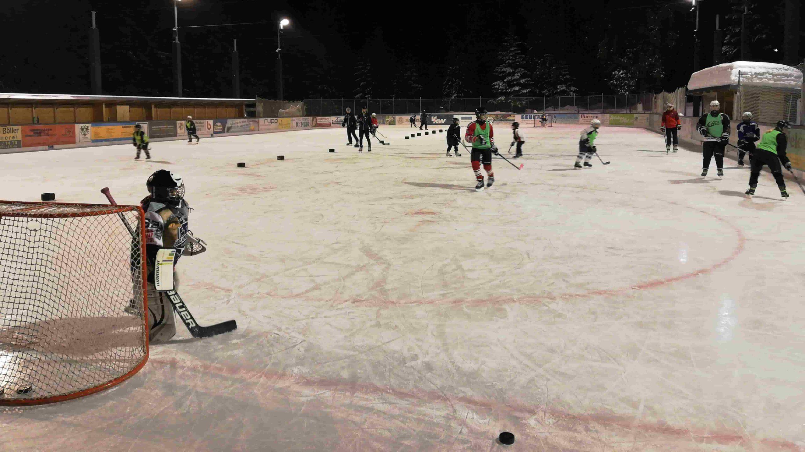 Eishockey Jugendtraining