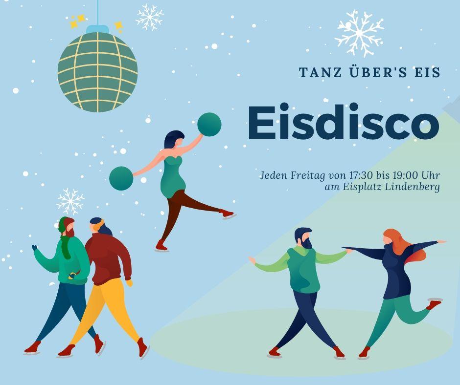 Eisdisco Lindenberg Plakat