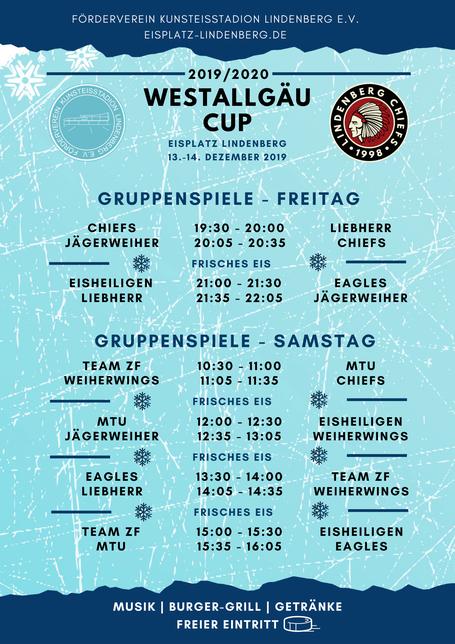 spielplan gruppenphase westallgäu cup 2019 2020