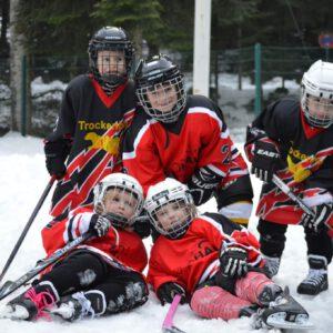 Nachwuchsspieler TV Lindenberg Eishockey