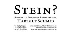 Sponsor: Stein - Steinmetz & Bildhauer